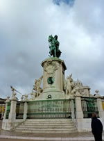 Statue of D José I in the Praça do Comércio, Lisbon