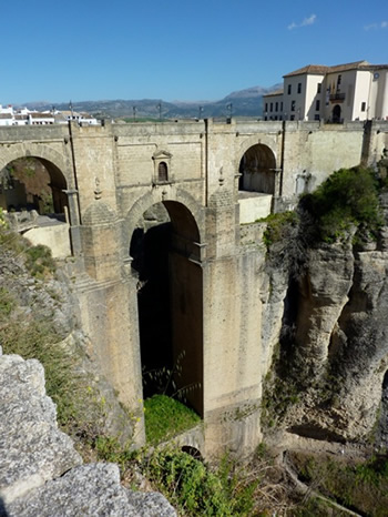 Bridge at Ronda where many met their death