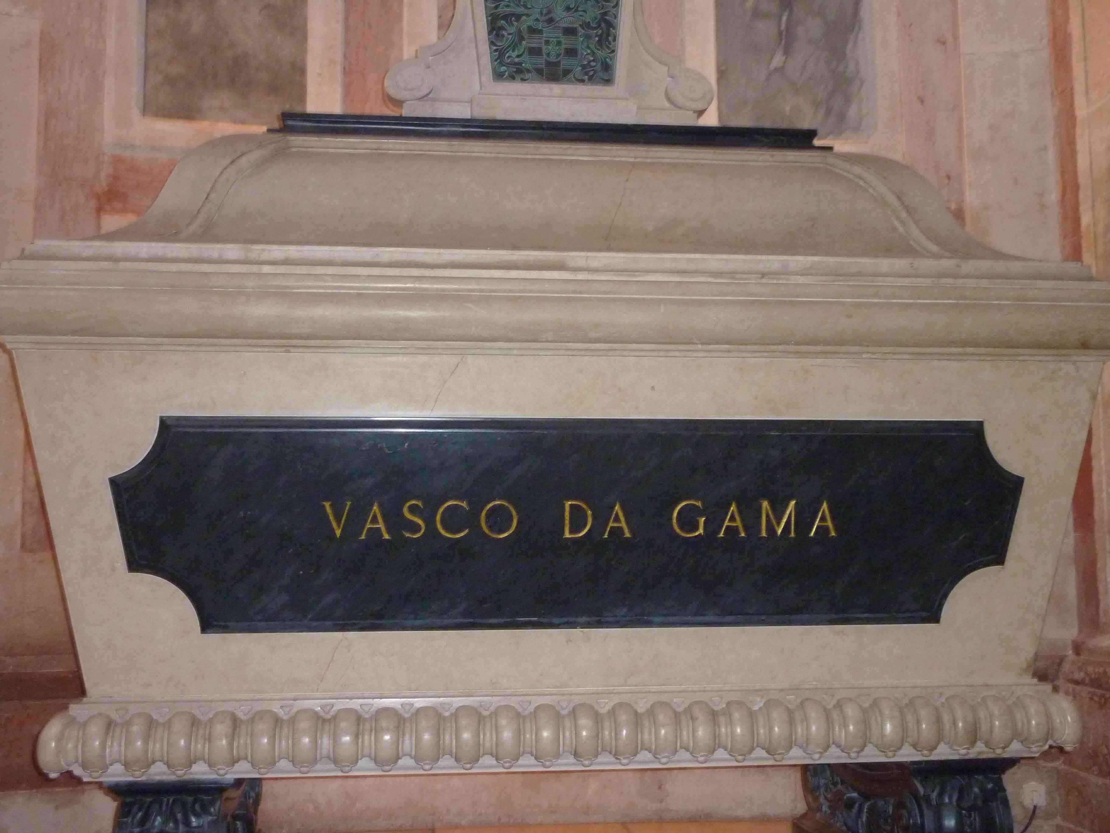 Vasco da Gama´s Tomb in the National Pantheon in Lisbon