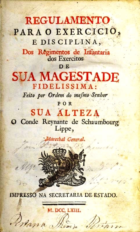 Regulamento of 1763